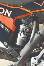 fox motocross shocks motocross action magazine we ride ride derek howerton u0027s ktm