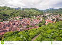 village in alsace france stock photo image 54069402