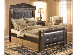 Mansion Bedroom Cozi Furniture New Carrollton Md Coal Creek Queen Mansion Bed