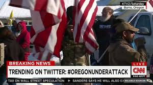 Back Of Oregon State Flag Armed Protesters Won U0027t Leave Federal Building In Oregon Cnn