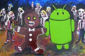 gingerbread android awesome android gingerbread skeleton painting found in the