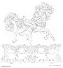 carousel drawings carousels that embody the u0027magic u0027 that