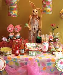 Easter Table Decorations by Fun Easter Table Decorations Decorating Of Party