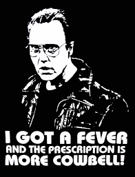 Christopher Walken Cowbell Meme - christopher walken requires more cowbell snl tc film music
