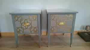Upcycled Side Table Used Upcycled Bedside Cabinets Side Tables In Ky12 Dunfermline