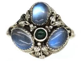 turquoise opal art nouveau jewellery art nouveau jewelry the antique jewellery