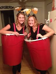 Beer Halloween Costume Beer Pong Halloween Costume Takes Giant Painted Trash