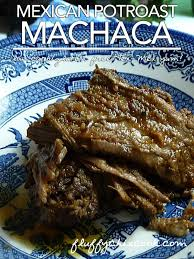 low carb machaca a mexican pot roast to write home about