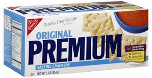 saltine crackers may help expecting fight nausea and emesis