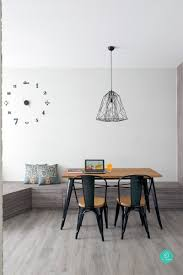 qanvast interior design ideas 6 brilliant 4 room hdb ideas for the strategic use of space also gives the home an expansive roomy feel and integrates usually grungy industrial elements in a refined manner