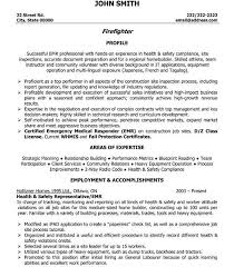 Firefighter Resume Template Download Firefighter Resume Examples Haadyaooverbayresort Com