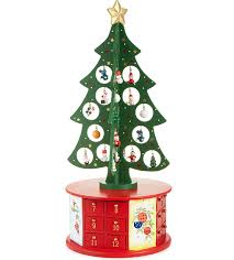 premier decorations wooden advent tree selfridges com