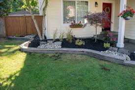 thurston county landscaping beds and fire pit ajb landscaping