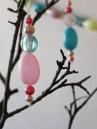Easter Hanging Decorations To Make by Easter Decorations Bead Garlands And Hanging Ornaments Loulou