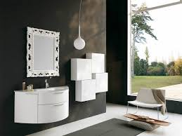 White Bathroom Mirror by 12 Framed Bathroom Mirrors Designs And Ideas