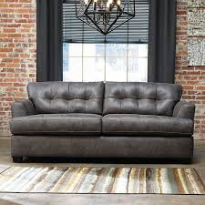 Charcoal Sofa Bed Inmon Charcoal Sofa Benchcraft Furniture Cart