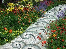 home design diy garden path ideas how to make walkway home design
