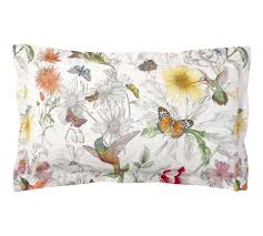 hummingbird reversible quilt cover u0026 pillowcase pottery barn au