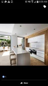 Kitchen Benchtop Designs Modern White Kitchen Designs With Timber Google Search