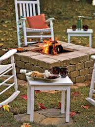 How To Build A Square Brick Fire Pit - 30 spectacular backyard diy fire pit seating ideas