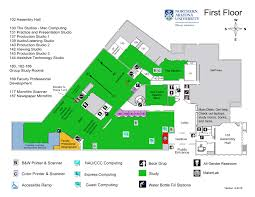 Northern Arizona Map by Library Floor Map First Floor