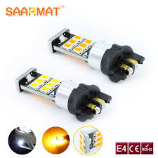 bmw f30 fog light bulb 2x error free pw24w high power 15pcs for chips led bulbs for