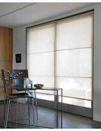 window treatments for doors with glass roman blinds are great for sliding doors blinds pinterest