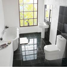 L Shaped Bathroom Suite Space Saving Bathroom Suite Home Design Ideas
