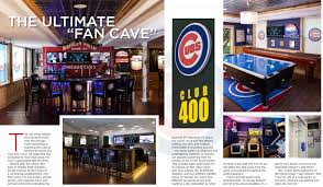 out of this league an incredible cubs man cave home automation blog