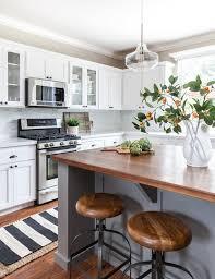 Kitchen Island Wood Countertop Benjamin Moore Chelsea Gray Chelsea Gray By Benjamin Moore White