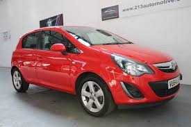 vauxhall corsa second hand vauxhall corsa 1 2 sxi 5dr red new shape 30 90