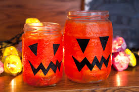 Halloween Jars Crafts by Summer Lanterns Red Ted Art U0027s Blog