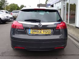 vauxhall insignia trunk used grey vauxhall insignia for sale suffolk