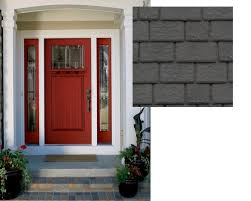 front door colors for gray house beautiful gray house red front door with best front door colors