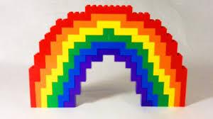 how to build lego rainbow youtube
