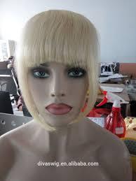Pure Virgin Hair Extensions by Pure Virgin Grey Hair Fringe Hairpiece Clip In Virgin Human Hair