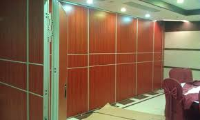 Movable Wall Partitions Sound Proof Movable Wall Partitions For Conference Hall