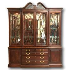 Break Front Cabinet China Cabinets U0026 Hutches For Sale Upscale Consignment