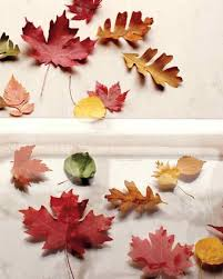 diy thanksgiving decorating ideas preserved leaves rowland
