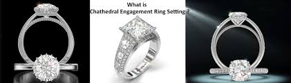 what is an engagement ring what is the cathedral engagement ring setting