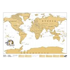 Portugal On The World Map Scratch Map Original World Edition
