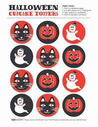 Halloween Cake Decorations Edible by Free Halloween Cupcake Toppers Best 25 Halloween Cupcakes