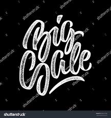 texture for logo white big sale handmade lettering graffiti stock vector 385127782