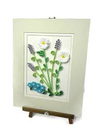 flowers home decor floral wall hanging flowers home decor quilling wall