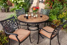 Aria Patio Furniture Outdoors The - hartman celtic aria 4 seat round set hayes garden world
