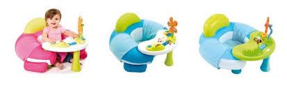 siege gonflable cocoon tables d éveil et d activité modèles avec siège