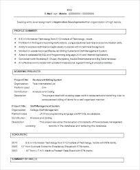 sample resume for hostess resume templates for freshers free