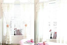 White Ruffle Curtains White Curtains Blackout How To Make Curtains With Blackout Lining