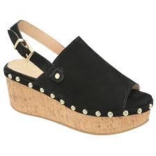 buy ravel ladies u0027 cutler wedge sandals online in black suede