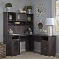 L Shaped Office Desk With Hutch L Shaped Desks Home Office Furniture For Less Overstock